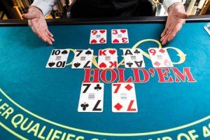 Live Casino Hold'em spelen