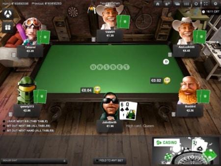 online poker in het online casino screenshot