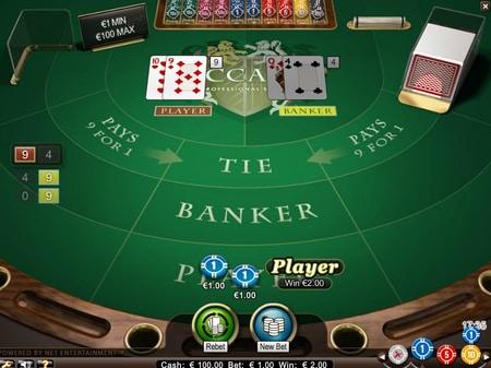 baccarat in het casino