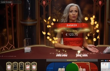 screenshot evolution gaming lightning baccarat