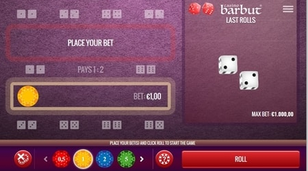 online casino barbut screenshot